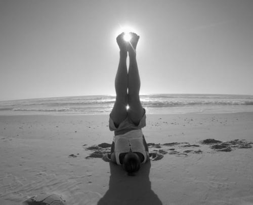 Posture de la chandelle - Kundalini Yoga